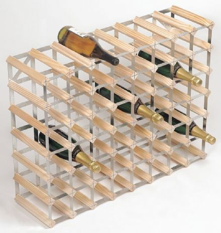 RTA 56 Bottle Pine Wine Rack Kit